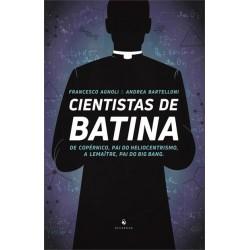 Livro Cientistas de Batina