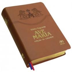 LIVRO BÍBLIA AVE-MARIA -...